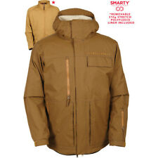 686 Authentic Smarty Form Mens Jacket Snowboard - Duck Pincord All Sizes