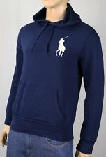 Polo Ralph Lauren Navy Blue Big Pony Hoodie Sweatshirt NWT $125