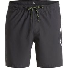 Quiksilver Sideways 17in Mens Shorts Swim - Black All Sizes