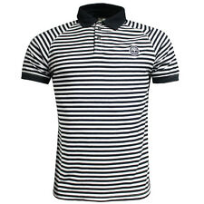 Timberland Short Sleeve Stripe Raglan Mens Cotton Polo Shirt (4657J 130 U3)