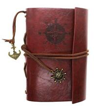 2016 New Vintage Retro Faux Leather Cover Nautical String Journal Diary Notebook