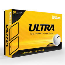 Wilson Staff 2015 Ultra LUE Ultimate Distance Golf Balls White 15 Pack Multi