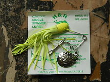 """H&H The Original Single Spinner """"King Of The Spinner Lures"""" 3/8 oz. Select Color"""