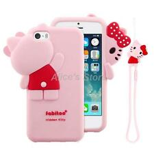 New Hide Seek Hello Kitty Soft Silicone Case Cover for Apple iPhone 5 6/6S 6Plus