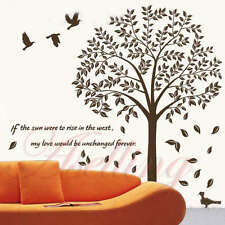 Love Tree Love Motto Poem DIY Removable Art Vinyl Wall Sticker Decor Mural Decal