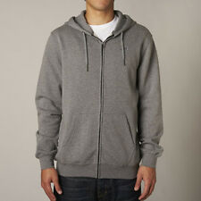 Fox Racing Legacy Mens Hoody Zip - Heather Graphite All Sizes
