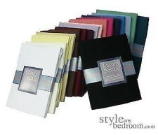 QUALITY PERCALE FITTED Sheets in 23 Colours & 4 Sizes. 180 Thread Count Non Iron