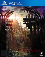 New Sony PS4 Games Natural Doctrine HK Version Japanese Voice and Subtitle