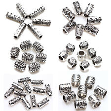 Lots 25/50/100Pcs Tibet Silver Various Carving Charm Connectors Making DIY
