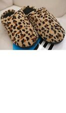 Isotoner leopard slippers