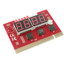 PC Computer 4 Digit PCI Card Motherboard Diagnostic Analyzer Tester