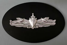 USN US NAVY NAVAL ESWS ENLISTED SURFACE WARFARE SPECIALIST INSIGNIA PLAQUE