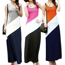 Scoop Neck Stretchy Sleeveless Tank Dress for Women