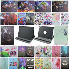 New 360Rotary Flip Stand Cover PU Leather Elastic Tablet Case For iPad Pro 9.7''