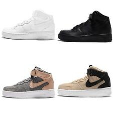 Wmns Nike Air Force 1 Mid 07 LE Black / White NSW Womens Casual Shoes AF1 Pick 1