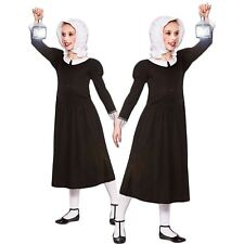 Victorian Florence Nightingale Girls Book Week Fancy Dress Costume Ages 3-13