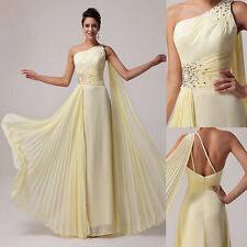 New Chiffon Bridesmaid Wedding Party Prom Formal Gown Banquet Evening Long Dress