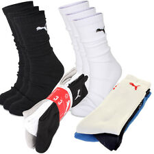 Puma Golf 2015 Mens Performance Sport Crew Socks - 3 Pair Pack