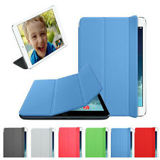 Slim Folio Leather Smart Cover Sleep Wake Case Skin For iPad mini Retina 2 Case