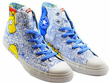 Converse Chuck Taylor Simpsons CT Ox Junior Kids Hi Top Trainers (641391C D87)