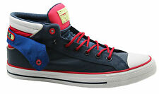 Converse Chuck Taylor All Stars Layer Mid Mens Trainers Boots Blue 143263C D117