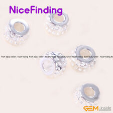 Bright Tibetan Silver Bail Style Spacer Craft Bead Findings 20 Pcs NiceFinding