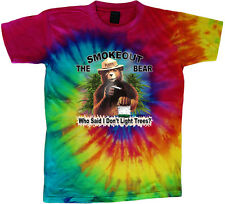 tie dye t-shirt funny weed pot cannabis shirt tie dyed tee shirt