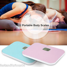 Portable 330lb LCD Electronic Digital Body Best Fat Diet Weight Bathroom Scale