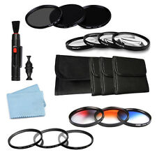 Star+2+4+8 Filter+ Neutral Density Filter+Gradual Color +Close Up Filter Kit