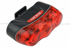 CATEYE RAPID 3 TL-LD630-R Bicycle Rear Light Red Led Flash Bike Tail Light