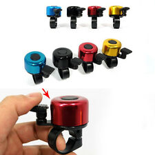Utility Bike Bell Metal Horn Safety Sound Bicycle Cycling Alarm Handlebar Ring