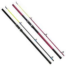 Fladen Charter 12 & 14ft Sea Fishing Beachcaster Rod in Black & Pink