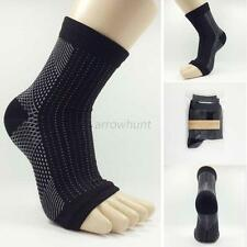 Men Women Foot Angel Anti Fatigue Compression Sleeve Ankle Swelling Relief Socks