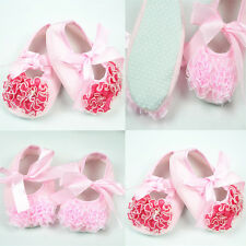 Fashion Baby Girl Flower Cute Shoes Anti-slip Toddler Newborn Shoes 0-18 Month
