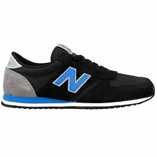 New Balance 420 70s Running Textile Black Blue Mens Trainers