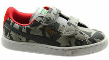 Puma Suede Camo V Kids 2 Strap Boys Trainers Toddlers Youths 356798 02 U110
