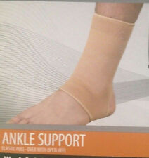 New CURAD ANKLE SUPPORT ELASTIC WITH OPEN HEEL - Small ORT26100S