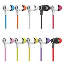New Light Universal 3.5mm In-Ear Stereo Earbuds Earphone With Mic For Cell Phone