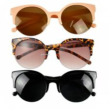 Fashion Retro Vintage Shades Oversized Womens Designer Cat Eye Sunglasses New