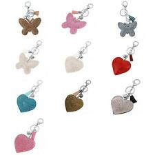 Rhinestone Butterfly/ Heart Pendant Keyring Key Chain Fobs for Mother's Day Gift