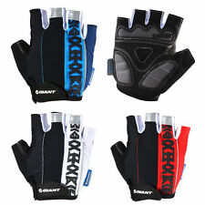 GIANT Cycling Short Fingerless Gloves Bike Riding Summer Half Finger Gloves