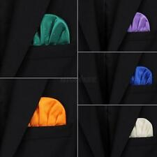 Mens Pocket Square Hanky Formal Wedding Handkerchief Groom Partywear Multi-color