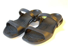 Crocs Cleo Sandals Black Size US Women 4 5 6 7 8 9 10 11 12 UK 2~ 9
