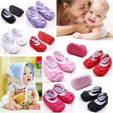 0-12 Months new Infant Girl Baby shoes Toddler Sneakers Soft Sole Crib Shoes AU
