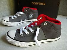 NWT $40. Boys Converse #651724F Chuck Taylor All Star No Time Lace Canvas Shoes