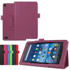 Folio Leather Case Stand Cover Skin For Amazon Kindle Fire HD 7 2015 Tablet Case