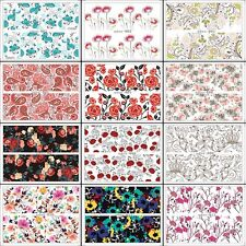 12 Pattern Nail Art Stickers Water Transfer Decals Nail Tips Manicure Decoration