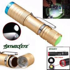 Super Bright 3500LM 3 Modes CREE XML T6 LED Zoomable Flashlight Torch Lamp Light