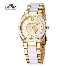 WEIQIN Watches Fashion Women Quartz Movt Ladies Analog Dress Wrist Watch B9D4