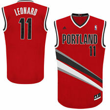 adidas Meyers Leonard Portland Trail Blazers Red Alternate Swingman Jersey